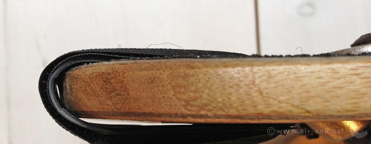 Drop-through longboard universal simple nose guard
