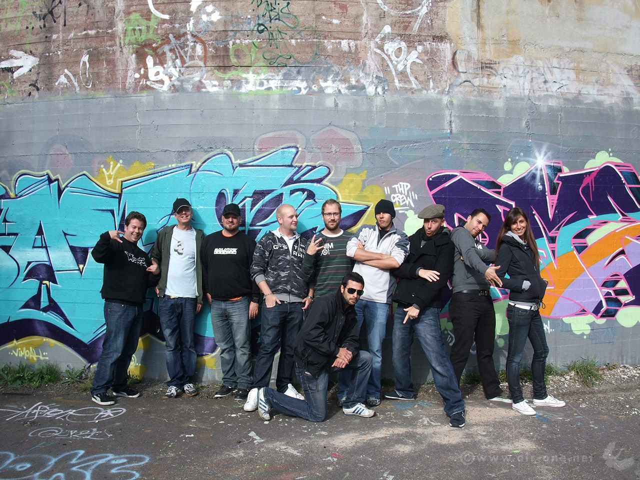 THP crew - Family Business, Tonsberg 2008