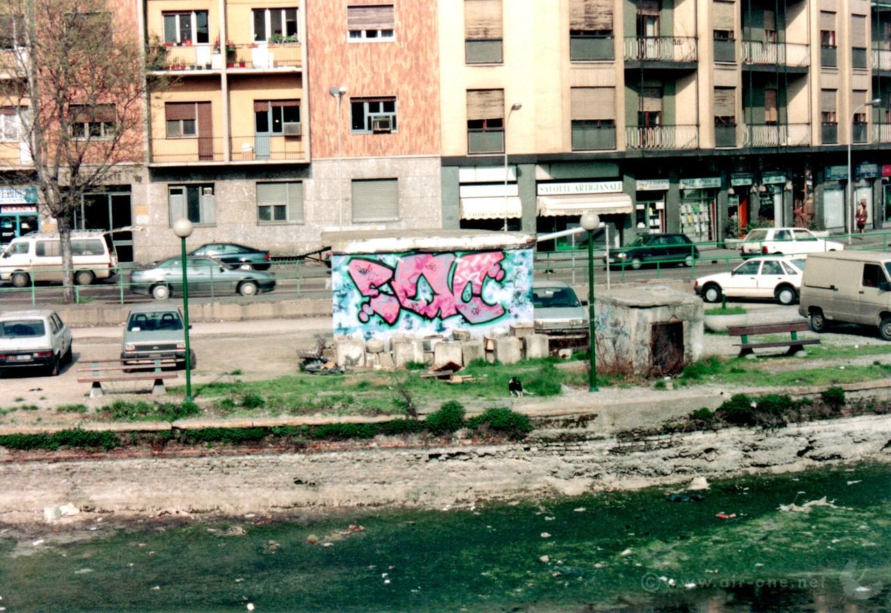 Epic by Airone + Rush - Darsena navigli, Milano 1991