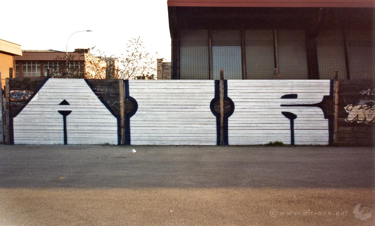 Airone - Milano Via Giambellino - 1992