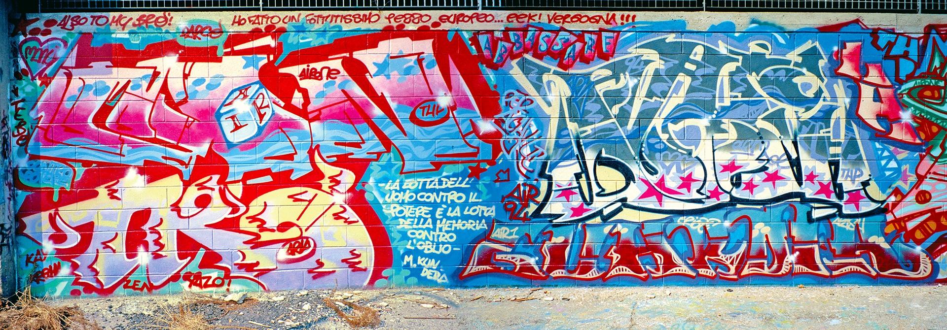 Airone, Cavalcavia Brunelleschi, Milano 1994