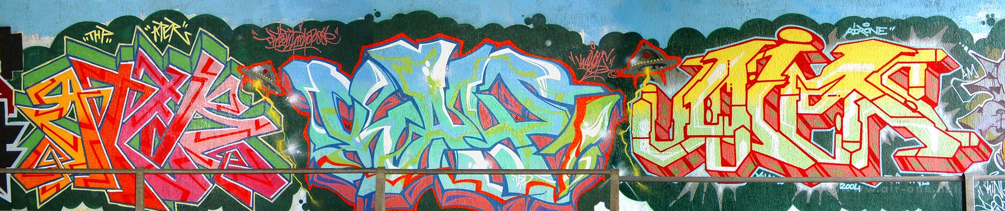 Ater KayOne Airone - Friends Of Friends Jam - Cesate - 2004