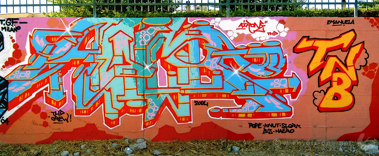 Airone - Circum Writing, Napoli 2004