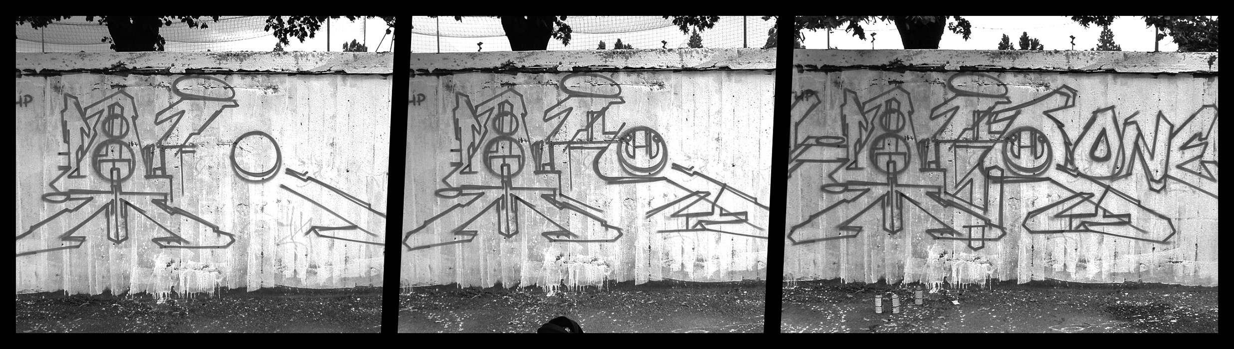 Airone - Sketch in progress - Cernusco sul Naviglio - 2005