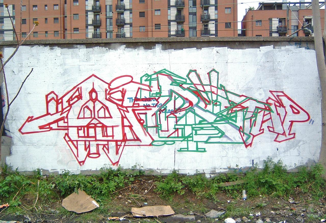 Airone - Via Cadolini - Milano 2005