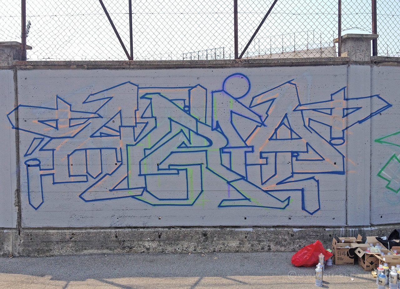 Airone - Art On The Stadio - Varese 2013
