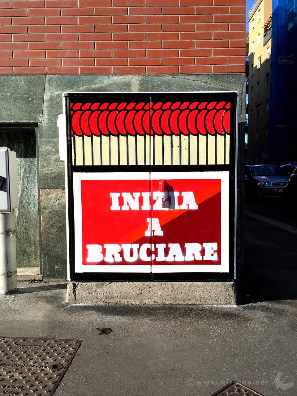 Inizia A Bruciare - Milano Energy Box 2015