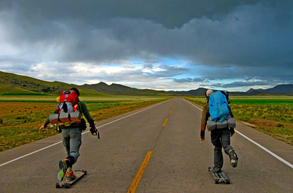 Long Treks On Skate Deks