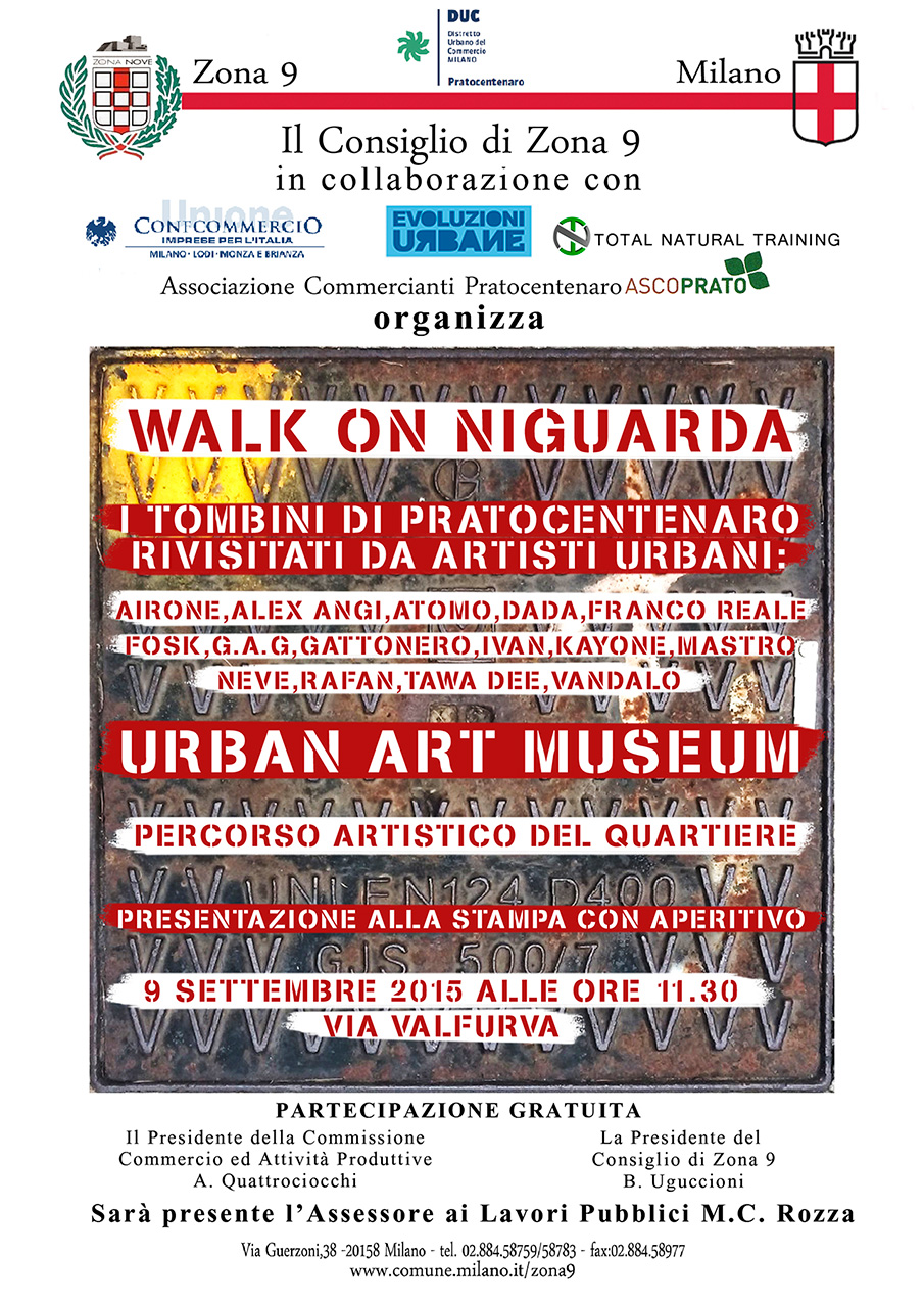 Walk On Niguarda - Milano 2015