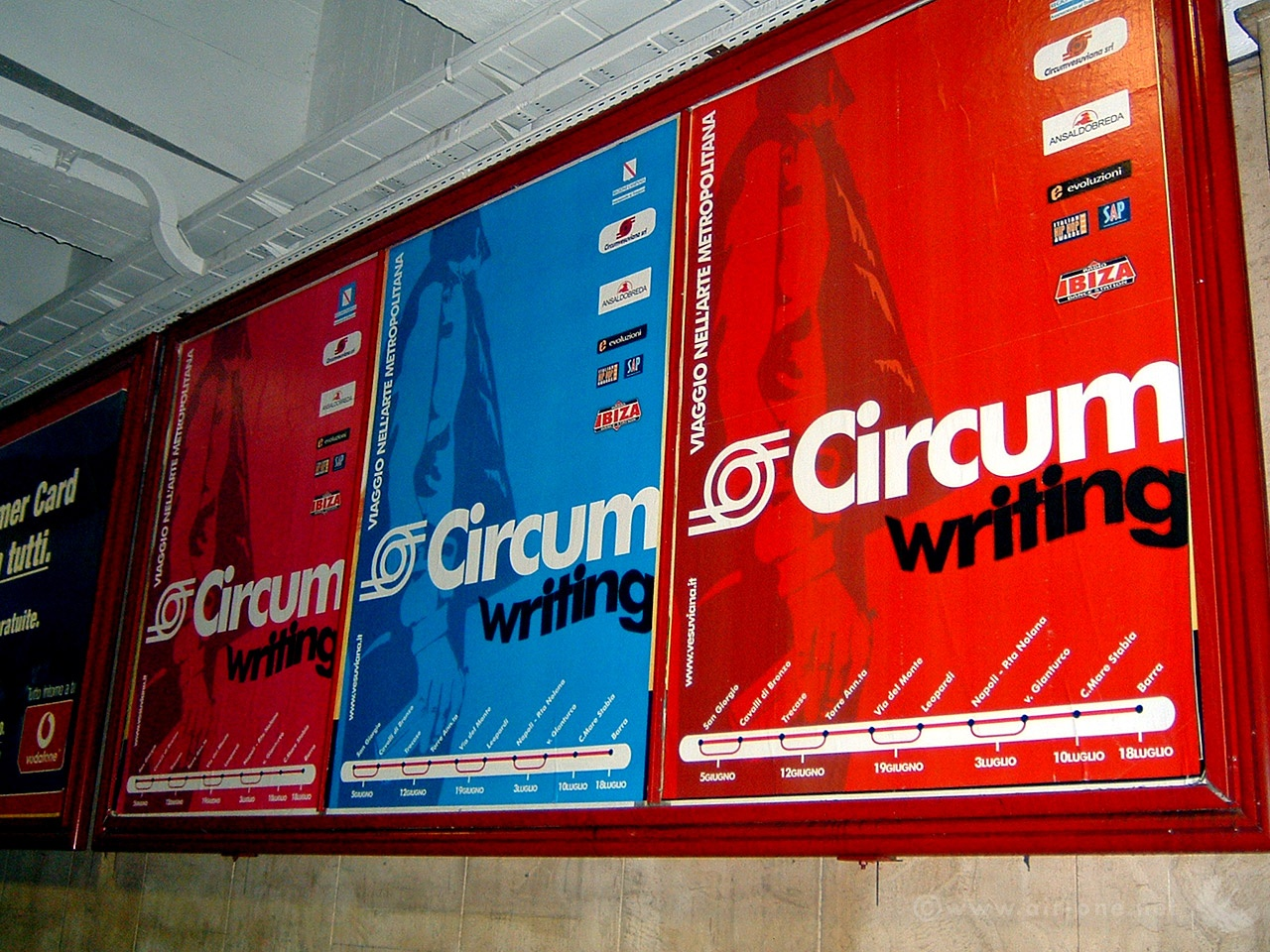 Circum Writing - Napoli 2004