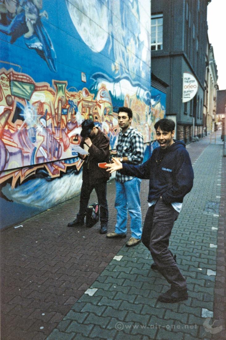 Airone + Rendo at Frankfurt's Spring Jam 1994