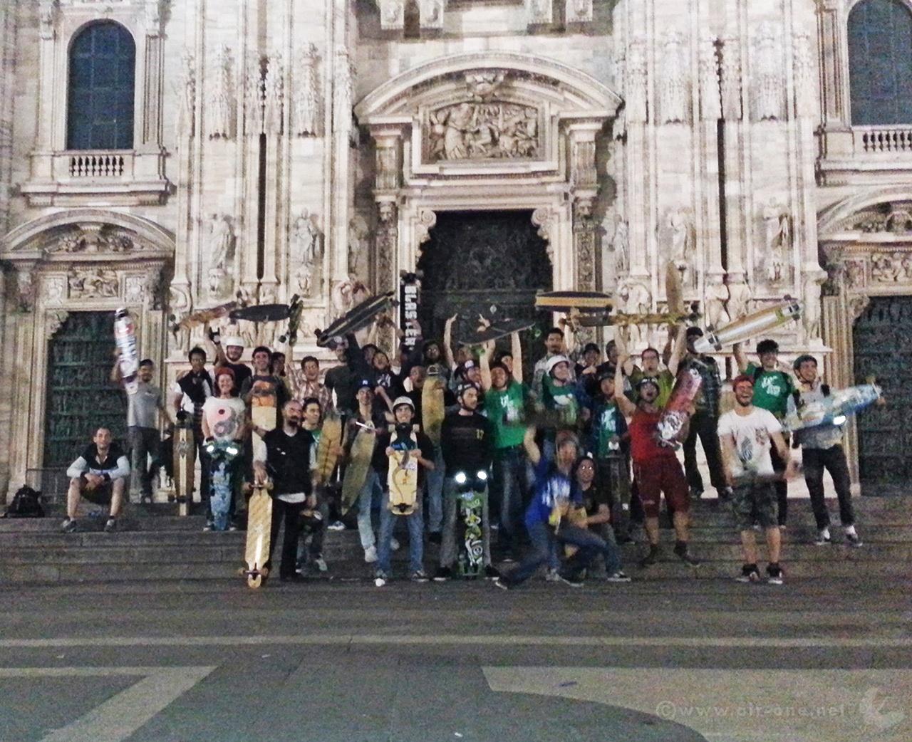 Milano Greenskate longboard 2013